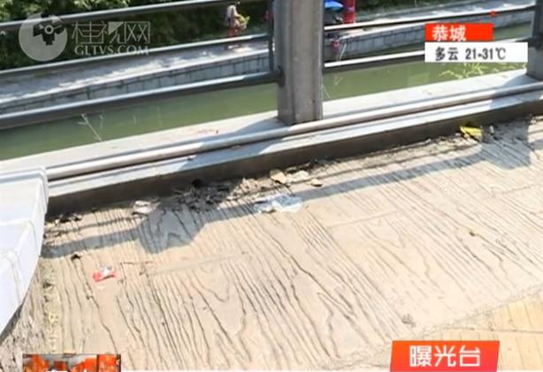 【创城再出发・曝光台】西清湖附近: 沿江步道无人清扫