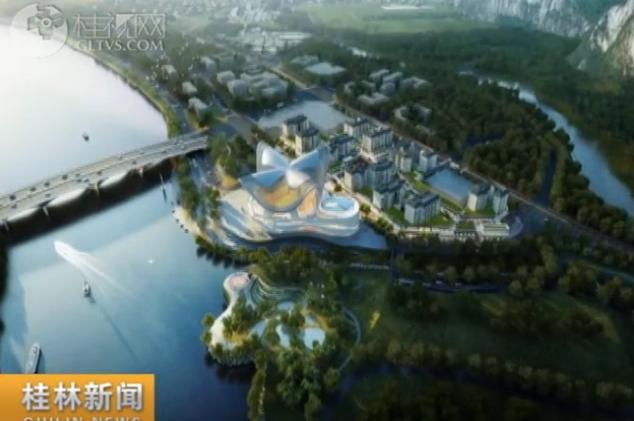 """市文旅中心项目:漓畔明珠将与逍遥楼象鼻山""""三"""