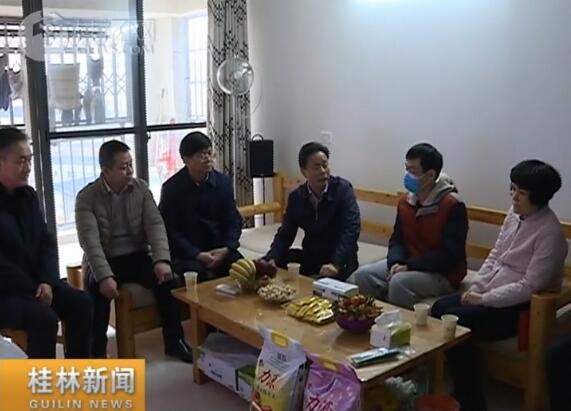 张晓武带队开展2020年春节慰问
