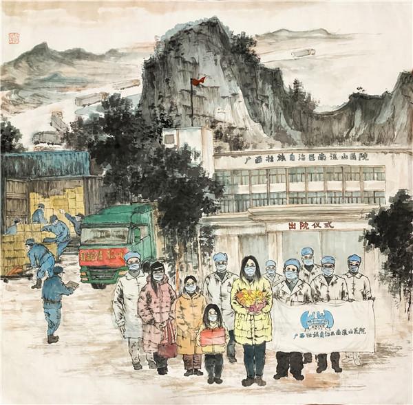 《抗击疫情  桂林在行动》作者:龙韵