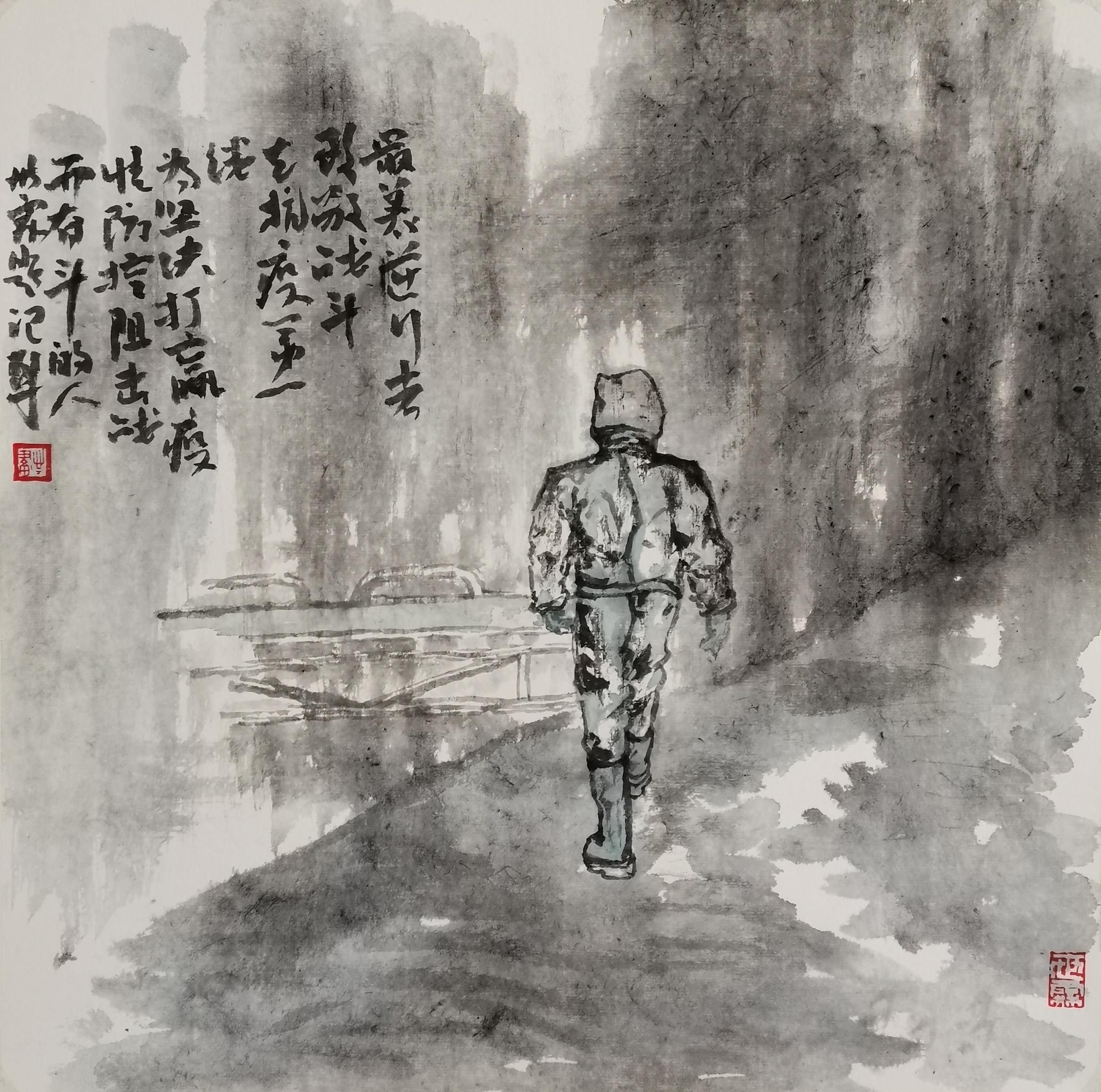 《最美逆行者》作者:张世霖