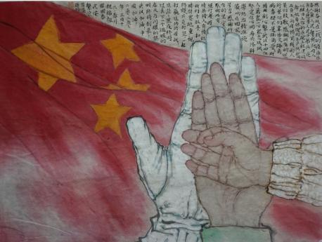 《中国,加油!》作者:秦燕格