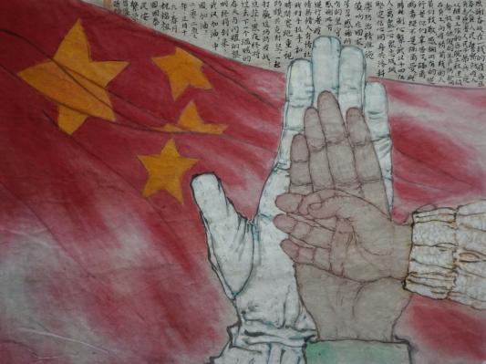 《加油,中国!》作者:秦燕格