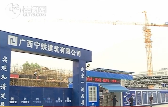 抓进度促生产 桂林站改造工程提速