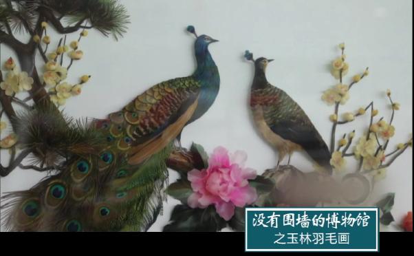 没有围墙的博物馆系列20之玉林羽毛画
