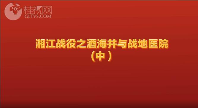 酒海井与战地医院(中)