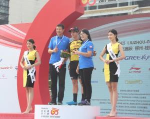 2017环广西公路自行车世界巡回赛今天进入桂林赛段