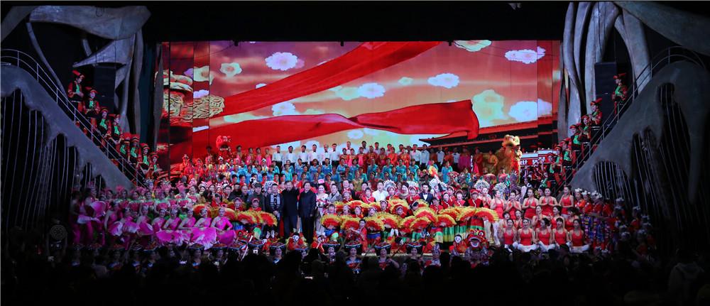 老年春节联欢会: 欢乐华章迎新春