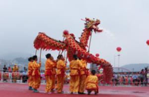 """""""一样的漓江 不一样的风光""""广西桂林平乐妈祖文化旅游节开幕式图集"""