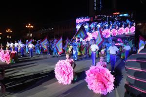 第四届桂林国际山水文化旅游节艺术巡游现场