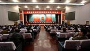 市五届人大三次会议举行第二次全体会议